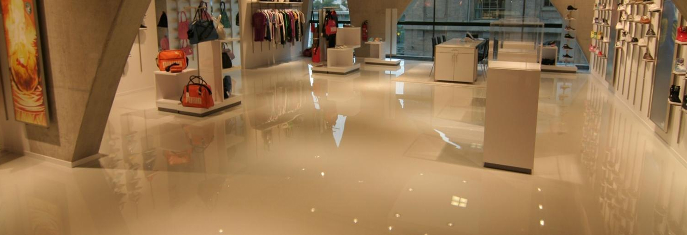 Commercial Epoxy Floor Coatings Services